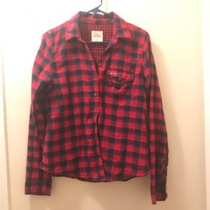 Hollister flannel long sleeve